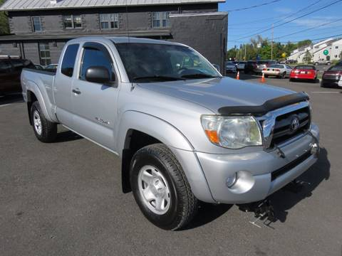 2008 Toyota Tacoma for sale at GREENPORT AUTO in Hudson NY