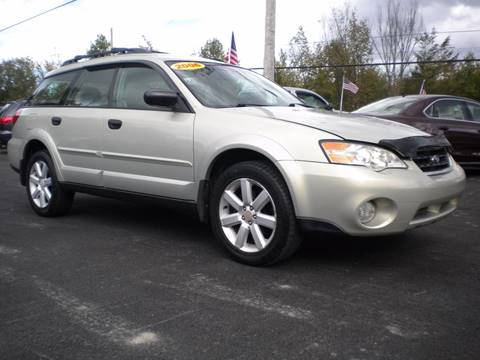 2006 Subaru Outback for sale at GREENPORT AUTO in Hudson NY