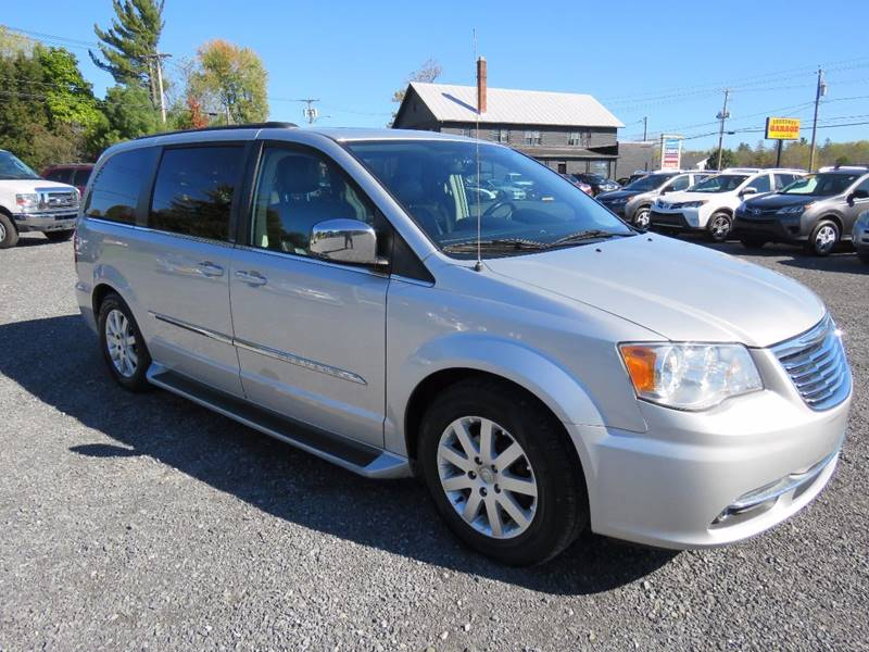 2011 Chrysler Town and Country for sale at GREENPORT AUTO in Hudson NY