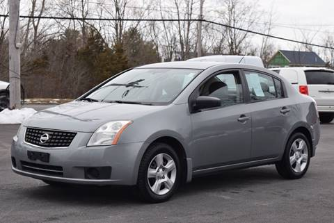 2007 Nissan Sentra for sale at GREENPORT AUTO in Hudson NY