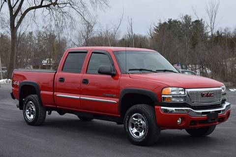 2004 GMC Sierra 2500HD for sale at GREENPORT AUTO in Hudson NY