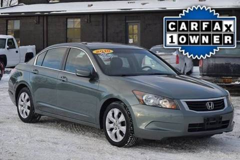 2010 Honda Accord for sale at GREENPORT AUTO in Hudson NY