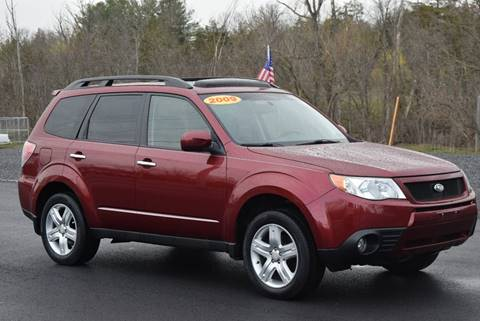 2009 Subaru Forester for sale at GREENPORT AUTO in Hudson NY