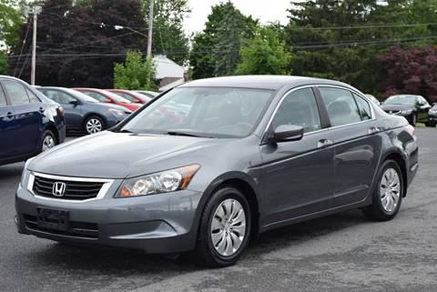 2008 Honda Accord for sale at GREENPORT AUTO in Hudson NY