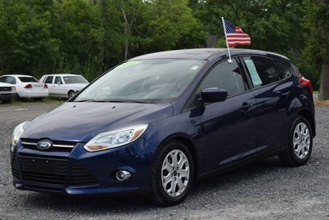 2012 Ford Focus for sale at GREENPORT AUTO in Hudson NY