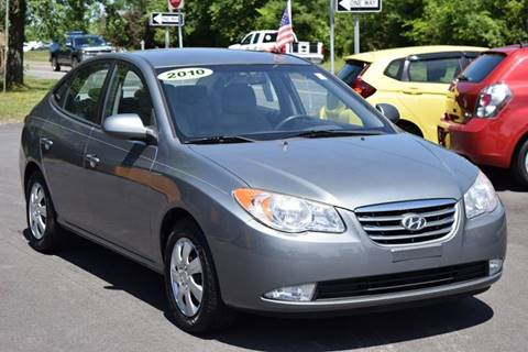 2010 Hyundai Elantra for sale at GREENPORT AUTO in Hudson NY