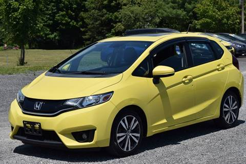 2015 Honda Fit for sale at GREENPORT AUTO in Hudson NY