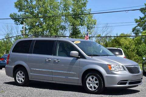 2013 Chrysler Town and Country for sale at GREENPORT AUTO in Hudson NY