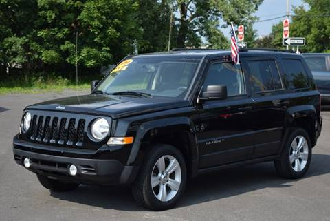2014 Jeep Patriot for sale at GREENPORT AUTO in Hudson NY