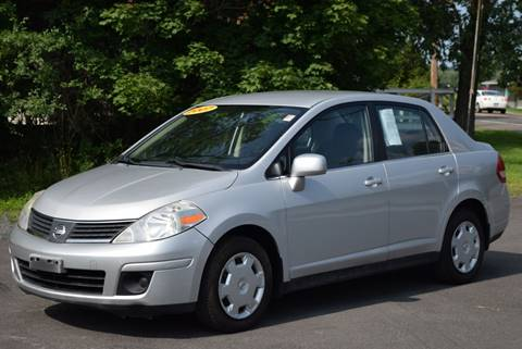 2007 Nissan Versa for sale at GREENPORT AUTO in Hudson NY