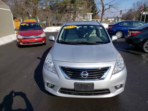 2012 Nissan Versa for sale at GREENPORT AUTO in Hudson NY