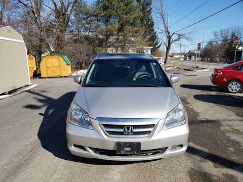 2006 Honda Odyssey for sale at GREENPORT AUTO in Hudson NY