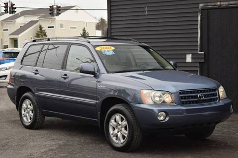 2003 Toyota Highlander for sale at GREENPORT AUTO in Hudson NY