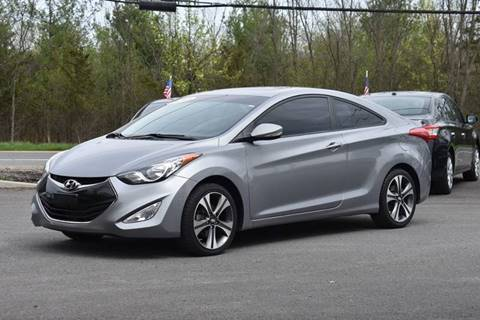 2013 Hyundai Elantra Coupe for sale at GREENPORT AUTO in Hudson NY