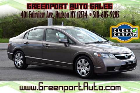 2011 Honda Civic for sale at GREENPORT AUTO in Hudson NY