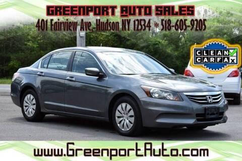 2011 Honda Accord for sale at GREENPORT AUTO in Hudson NY