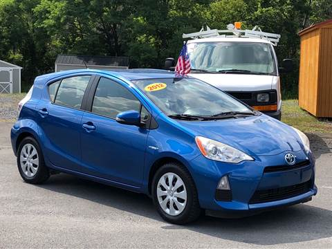 2012 Toyota Prius c for sale at GREENPORT AUTO in Hudson NY
