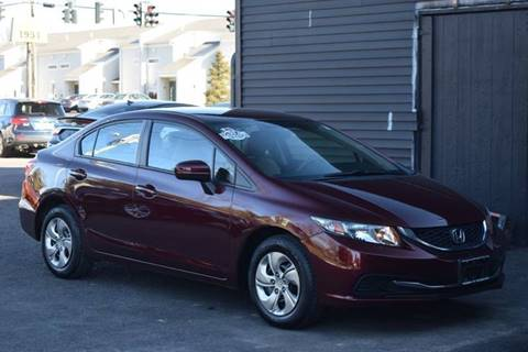 2015 Honda Civic for sale at GREENPORT AUTO in Hudson NY