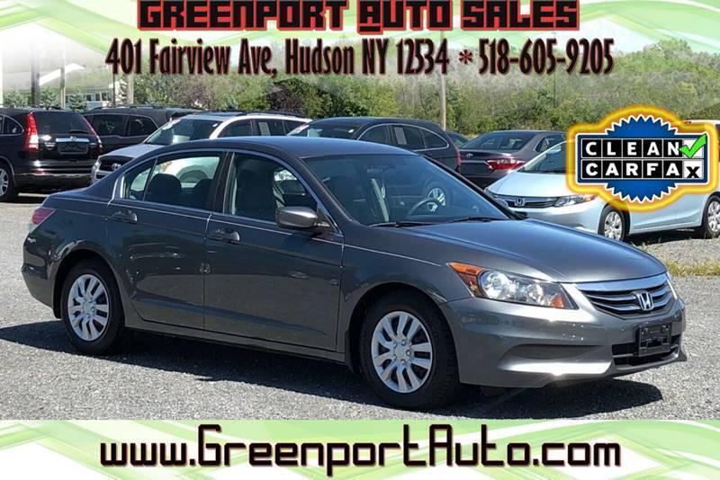 2012 Honda Accord for sale at GREENPORT AUTO in Hudson NY