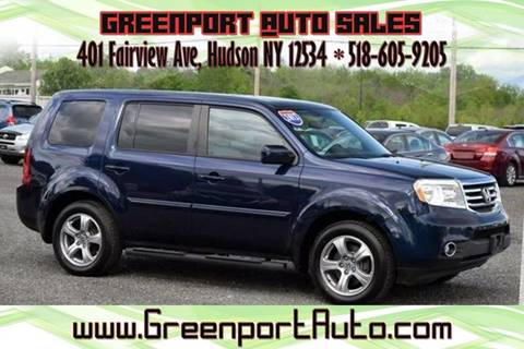 2013 Honda Pilot for sale at GREENPORT AUTO in Hudson NY