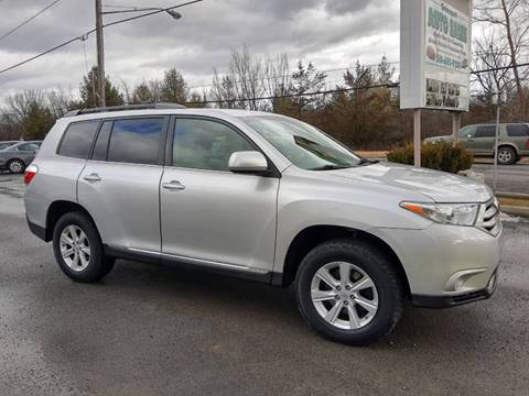 2011 Toyota Highlander for sale at GREENPORT AUTO in Hudson NY