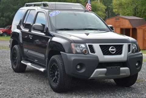 2013 Nissan Xterra for sale at GREENPORT AUTO in Hudson NY