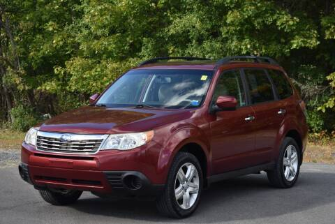 2010 Subaru Forester for sale at GREENPORT AUTO in Hudson NY