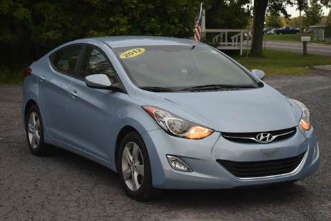 2012 Hyundai Elantra for sale at GREENPORT AUTO in Hudson NY