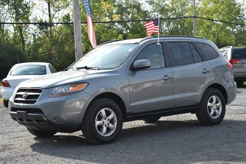 2007 Hyundai Santa Fe for sale at GREENPORT AUTO in Hudson NY