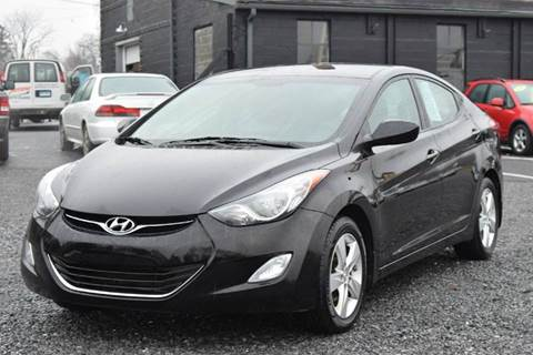 2013 Hyundai Elantra for sale at GREENPORT AUTO in Hudson NY