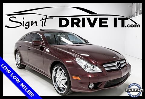 2011 Mercedes-Benz CLS for sale in Denton, TX