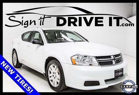 2011 Dodge Avenger for sale in Denton, TX