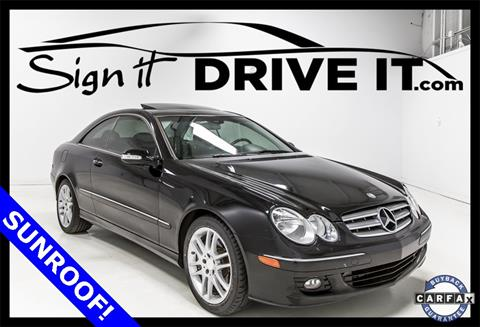 2009 Mercedes-Benz CLK for sale in Denton, TX