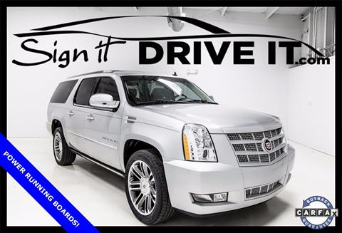 2012 Cadillac Escalade ESV for sale in Denton, TX