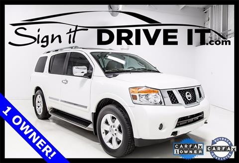 2014 Nissan Armada for sale in Denton, TX