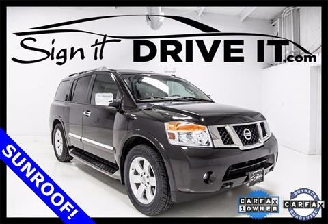 2013 Nissan Armada for sale in Denton, TX