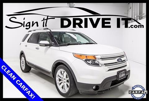 2012 Ford Explorer for sale in Denton, TX