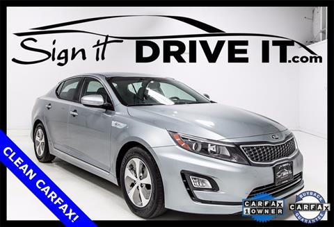 2016 Kia Optima Hybrid for sale in Denton, TX