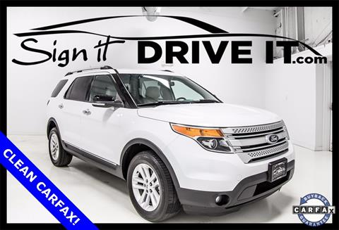 2013 Ford Explorer for sale in Denton, TX