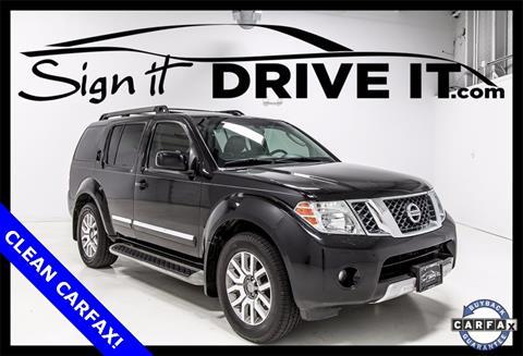 2011 Nissan Pathfinder for sale in Denton, TX