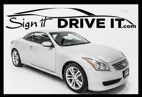 Infiniti G37 Convertible For Sale In Amarillo Tx Carsforsale