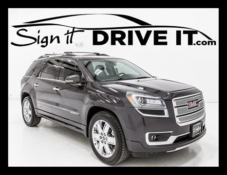 2014 GMC Acadia for sale in Denton, TX