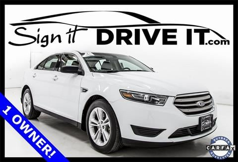 2015 Ford Taurus for sale in Denton, TX