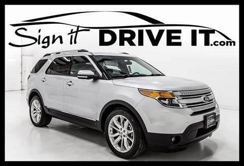 2014 Ford Explorer for sale in Denton, TX