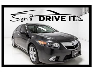 2013 Acura TSX for sale in Denton, TX