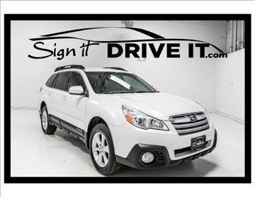 2013 Subaru Outback for sale in Denton, TX