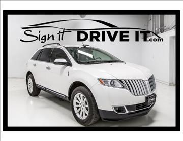 2012 Lincoln MKX for sale in Denton, TX