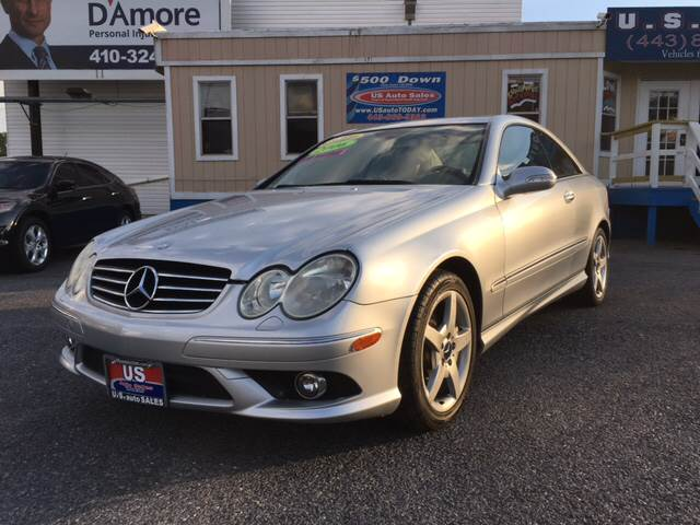 2006 Mercedes Benz CLK For Sale At US AUTO SALES In Baltimore MD