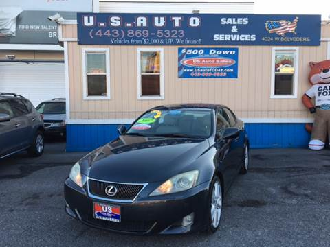2007 Lexus IS 350 for sale in Baltimore, MD