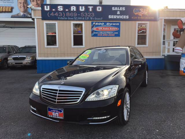 2010 Mercedes Benz S Class For Sale At US AUTO SALES In Baltimore MD